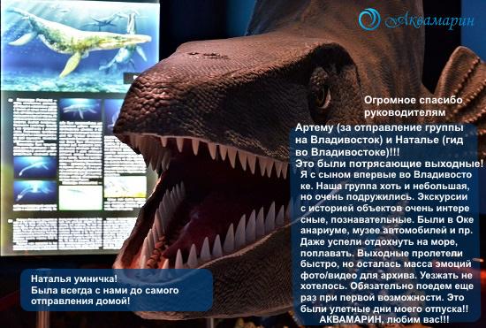 """Отзыв тур """"Выходные во Владивостоке"""" август 2021"""